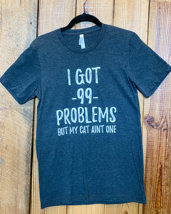 got 99 problems but my cat ait one